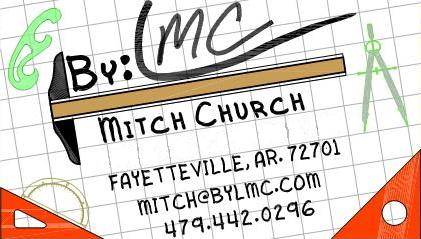 Welcome from Mitch at www.bylmc.com (Dwgn By : LMC)